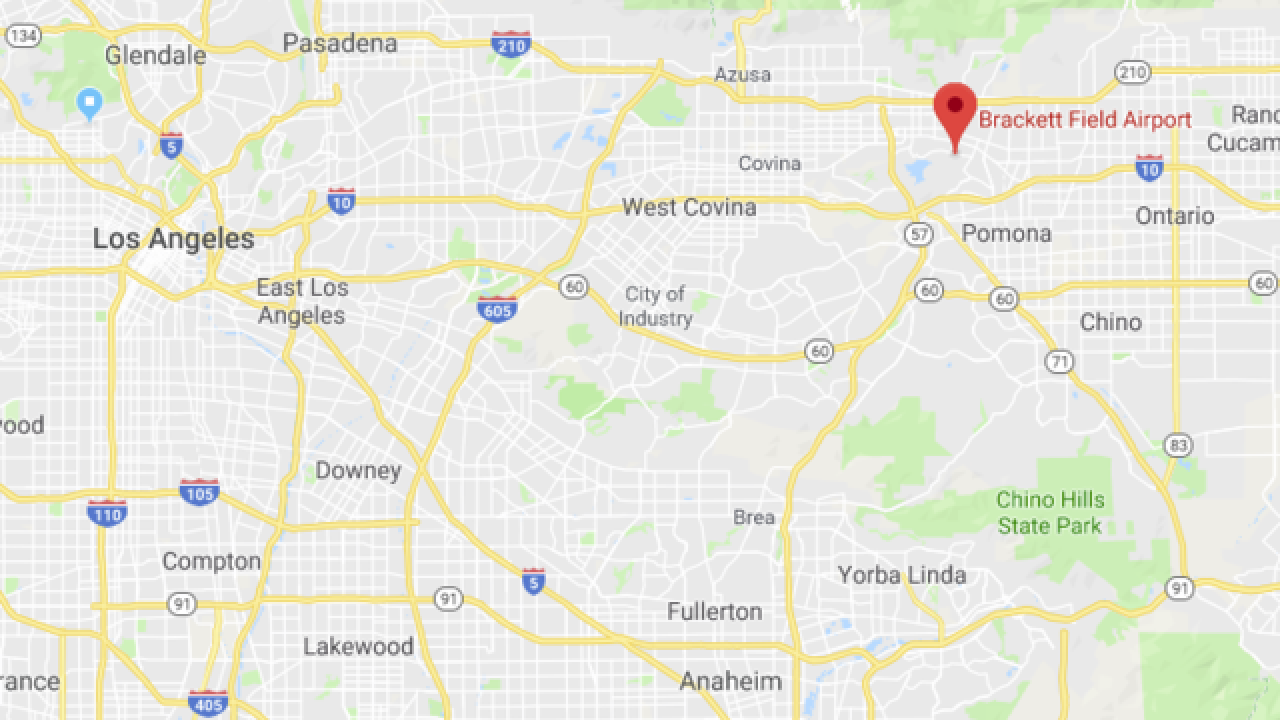 One Killed, One Injured In Small Plane Crash In La Verne