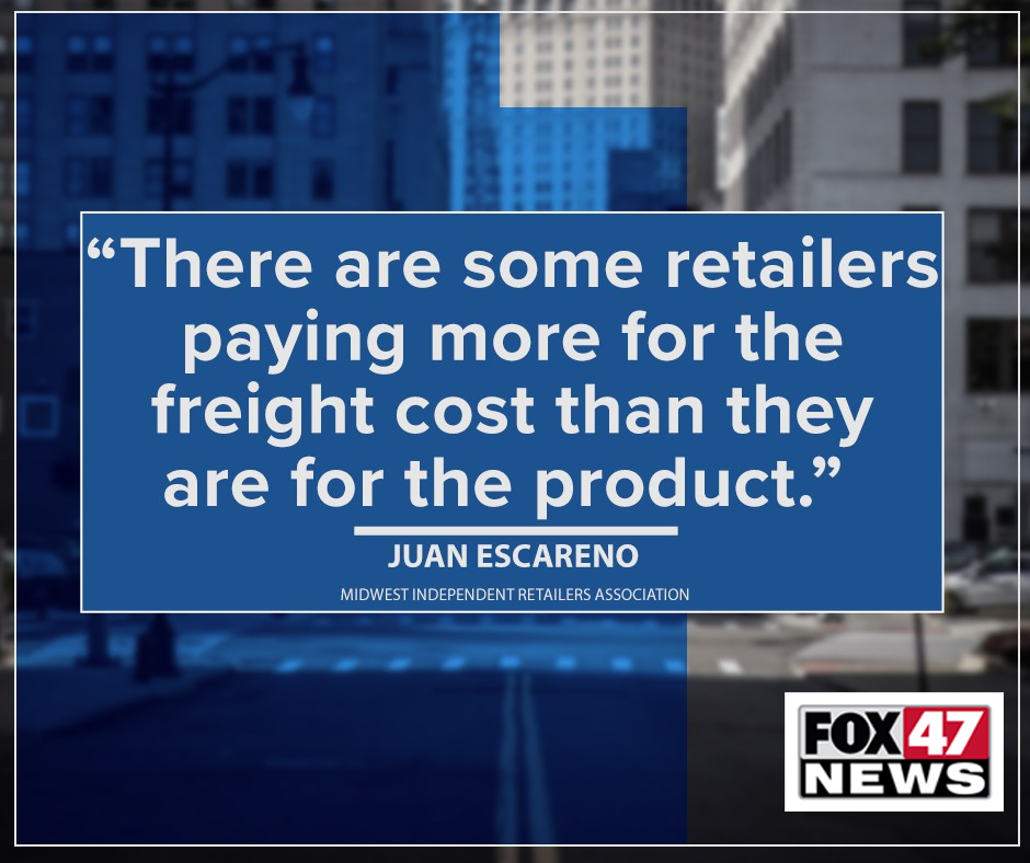 """""""There are some retailers paying more for the freight cost than they are for the product."""""""