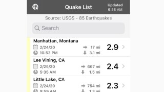 Small earthquake rattles Manhattan area Monday night