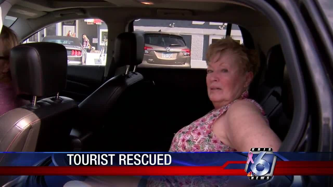 Arizona tourist rescued