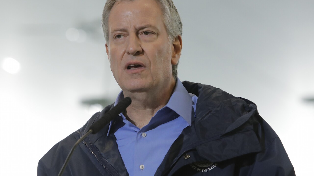 Mayor says NYC businesses can't 'jump the gun' on reopening