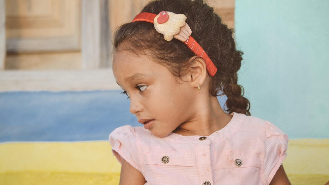 File image of a child.