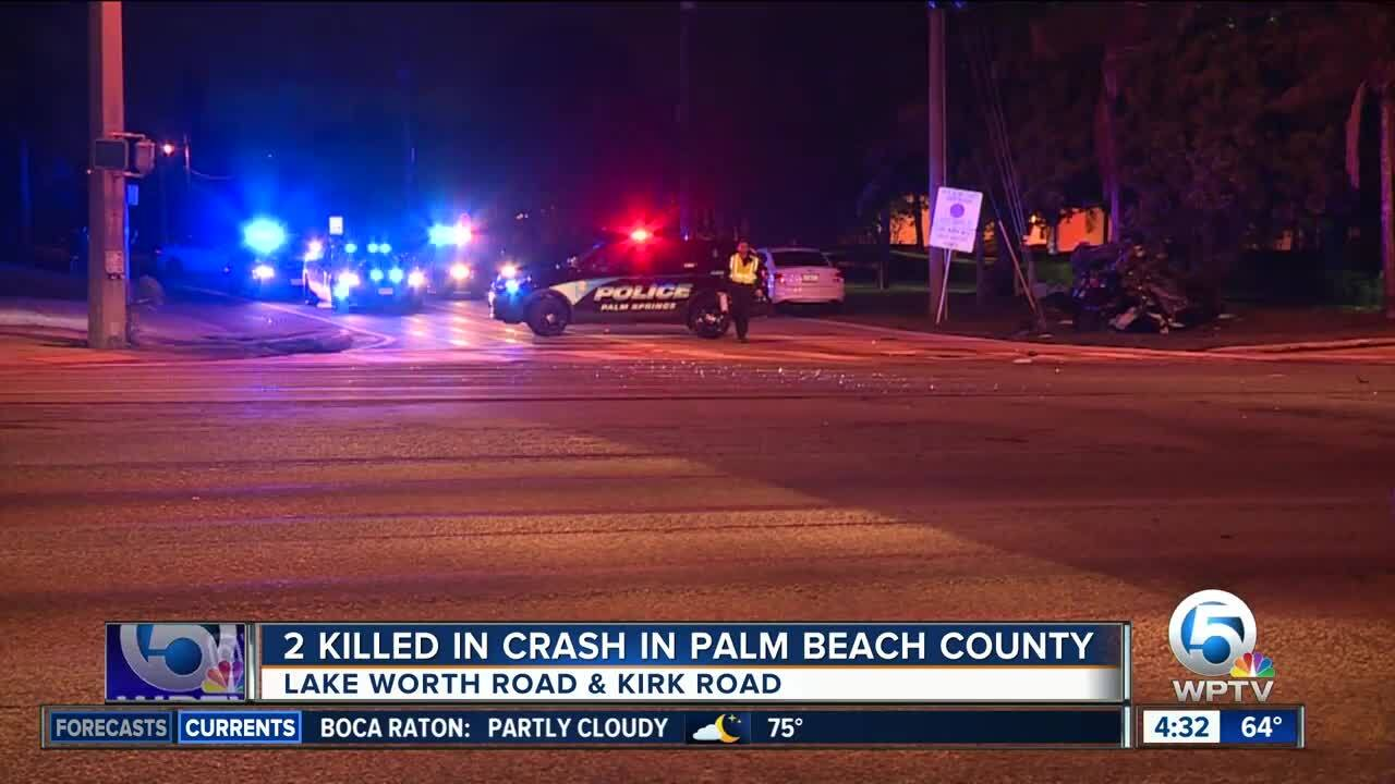 FHP identifies one of 2 victims killed in violent crash near Palm