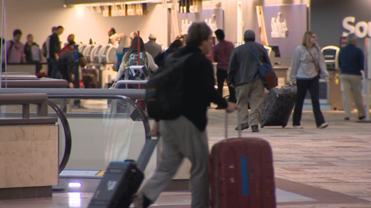BNA Filled With Holiday Travelers