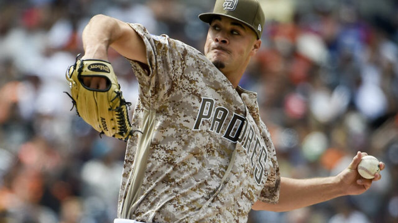Rookies Lucchesi, Villanueva carry Padres past Giants 10-1