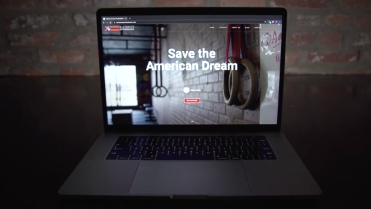 "The ""Alliance to Save the American Dream"" is a nonprofit that helps connect small business owners around the country with each other, to exchange ideas and offer advice on weathering the COVID-19 era."
