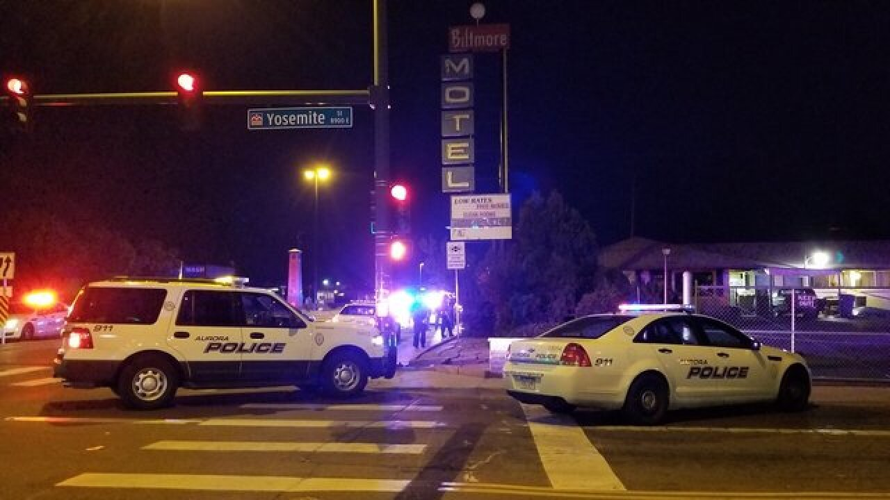 Suspect dies following officer-involved shooting in Aurora