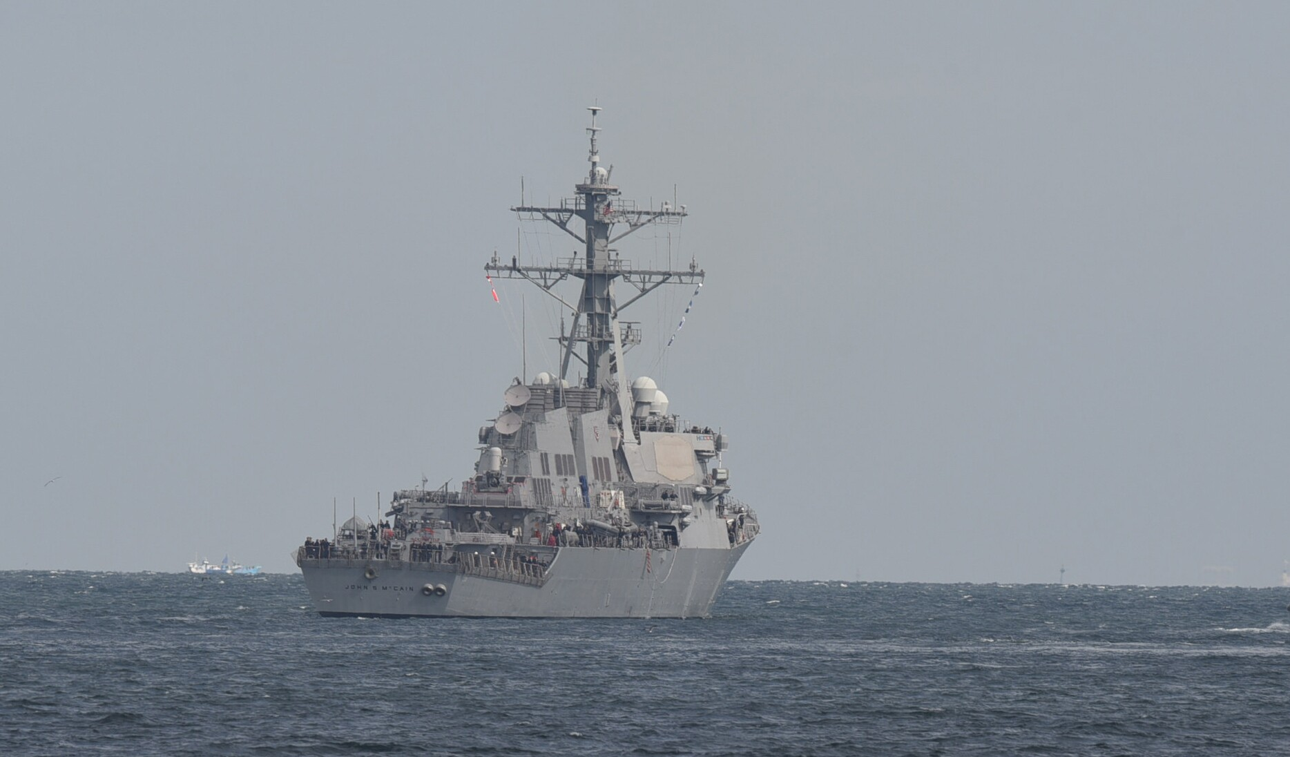 Photos: More than two years after deadly collision, USS John S. McCain returns to sea