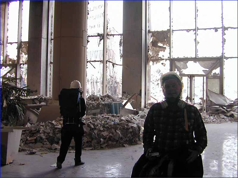 Workers in aftermath of 9/11 attacks