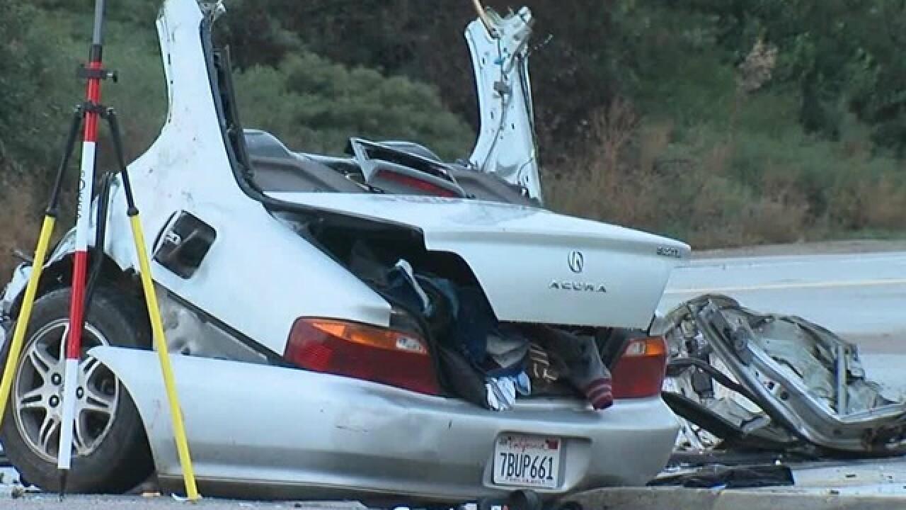Four people dead after crash near Chula Vista