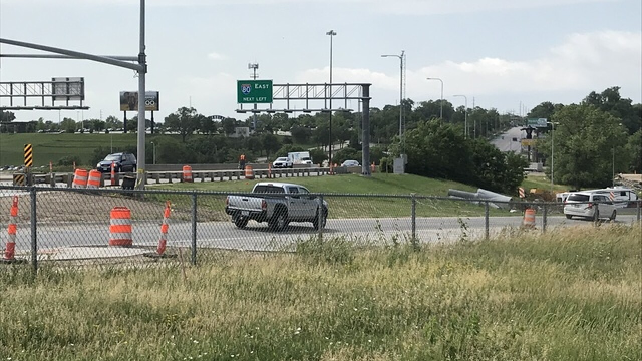 Road work continues on I-80 at 13th Street with CWS upcoming