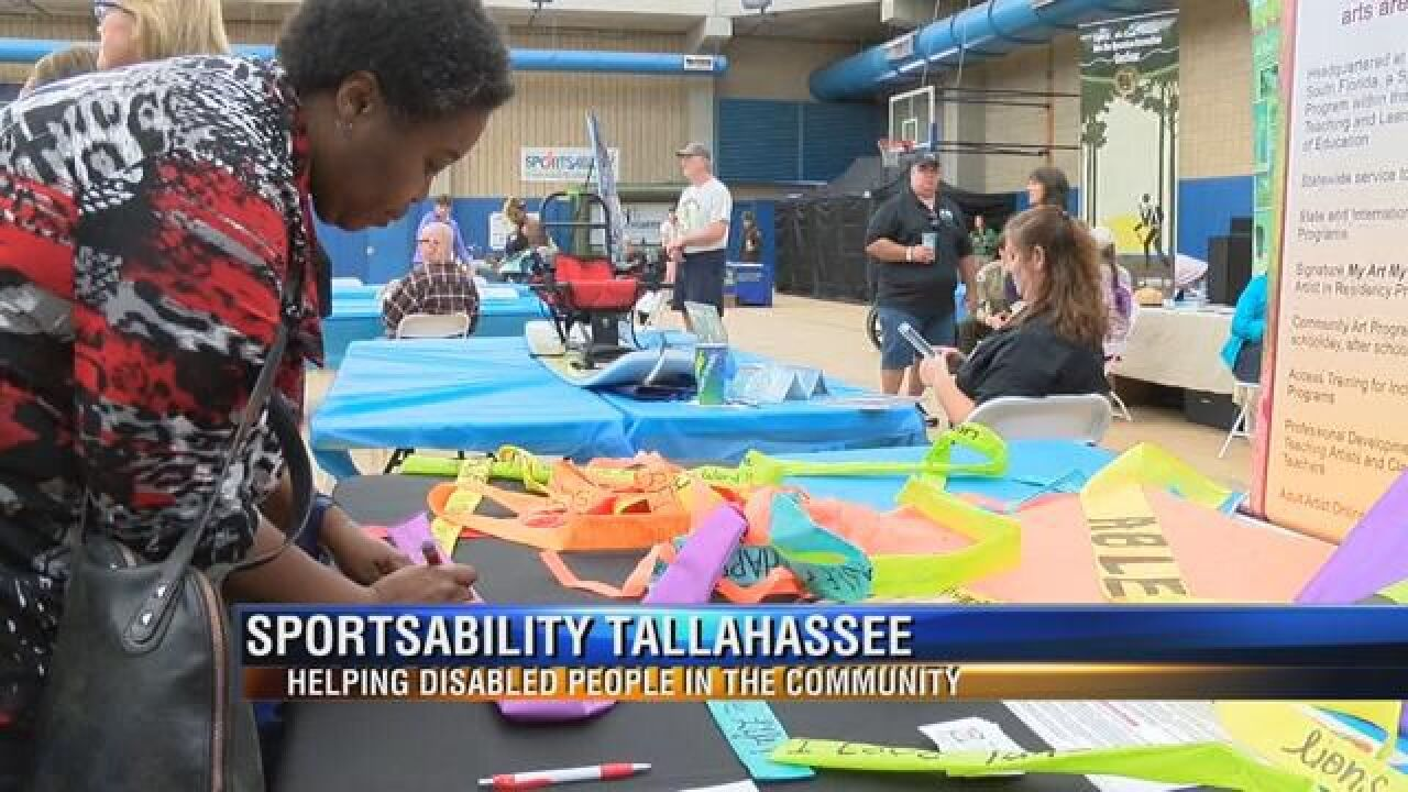 Residents with Disabilities Connected with Services and Products to Help Them Play Sports
