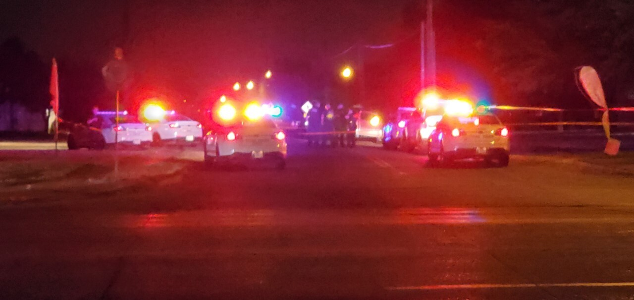 Tulsa police investigating scene after two officers shot