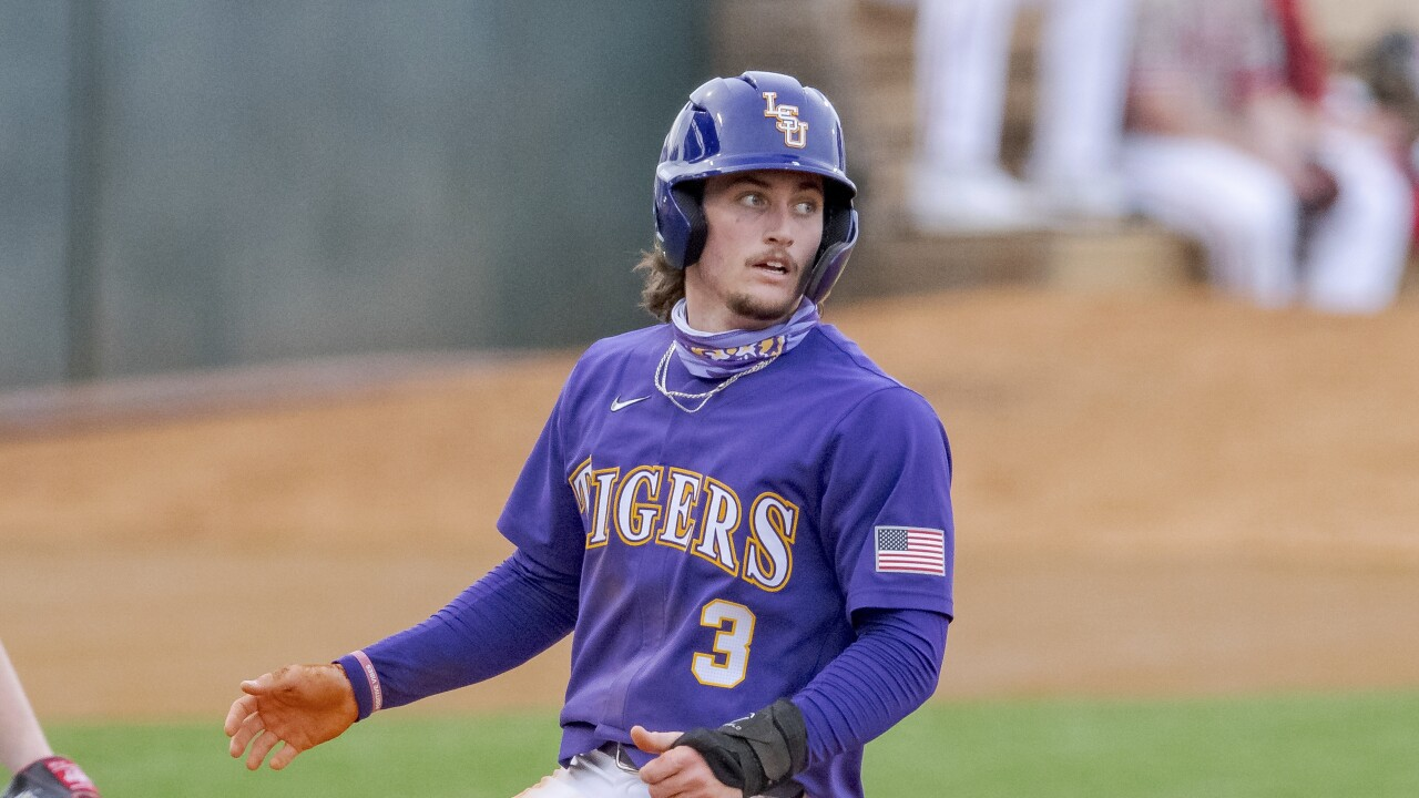 Dylan Crews LSU Baseball