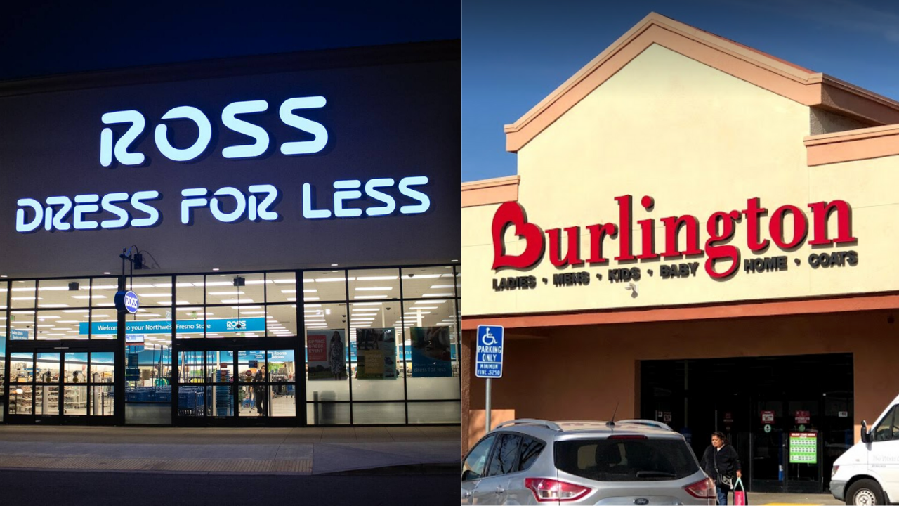 Ross Dress For Less And Burlington Coat Factory Announce Temporary