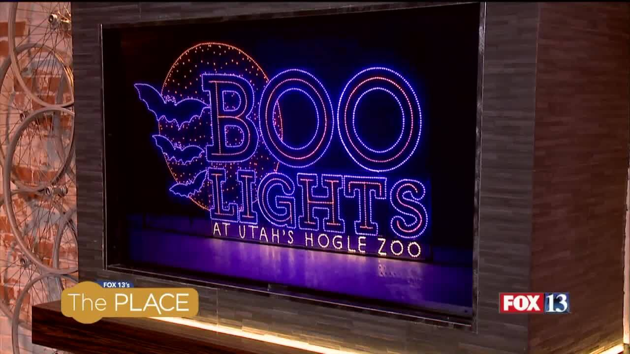 Hogle Zoo's 'Boo Lights' allows families to be festive, minus the scares!