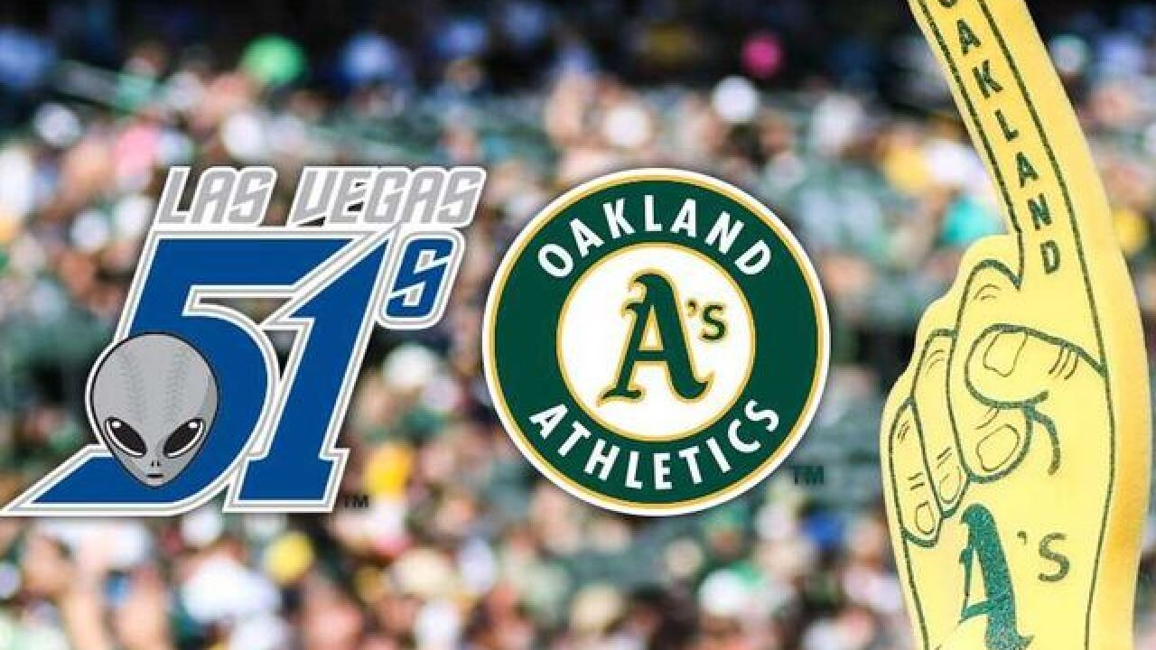 Las Vegas 51s become new home for Oakland A's Triple-A team