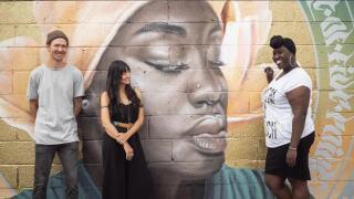 Queen Fathima mural_Fathima Dickerson