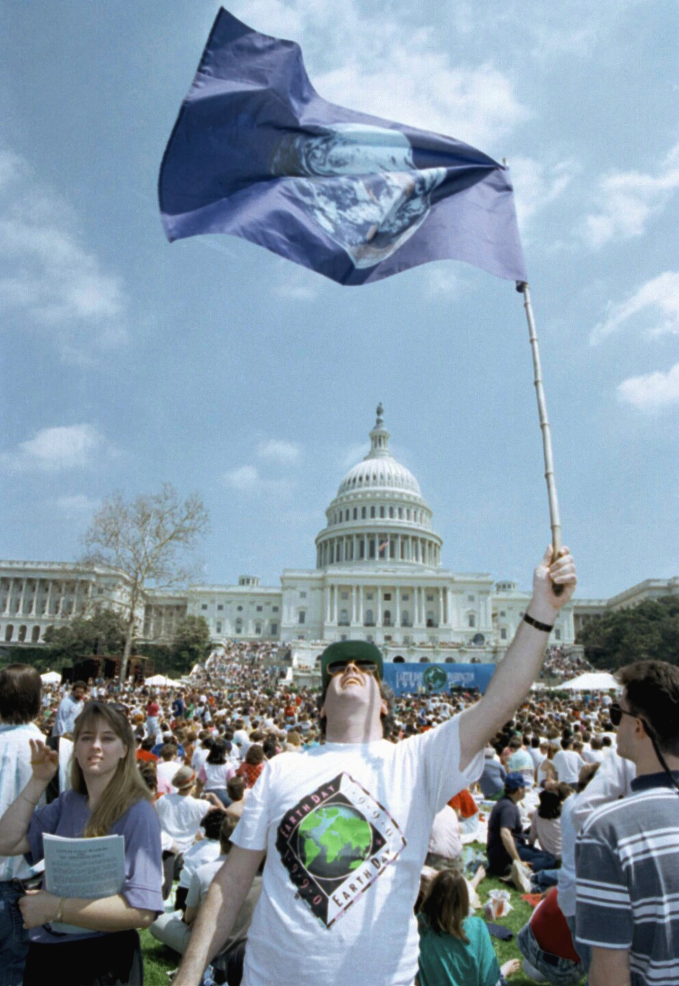 Watchf Associated Press Domestic News  Washington United States APHS49826 EARTH DAY RALLY