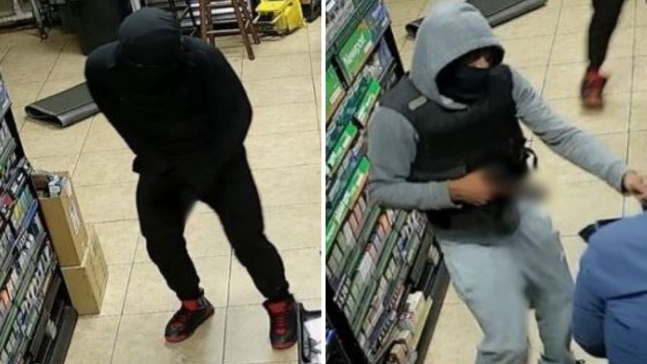 Police searching for suspects who robbed Hampton convenience store at gunpoint