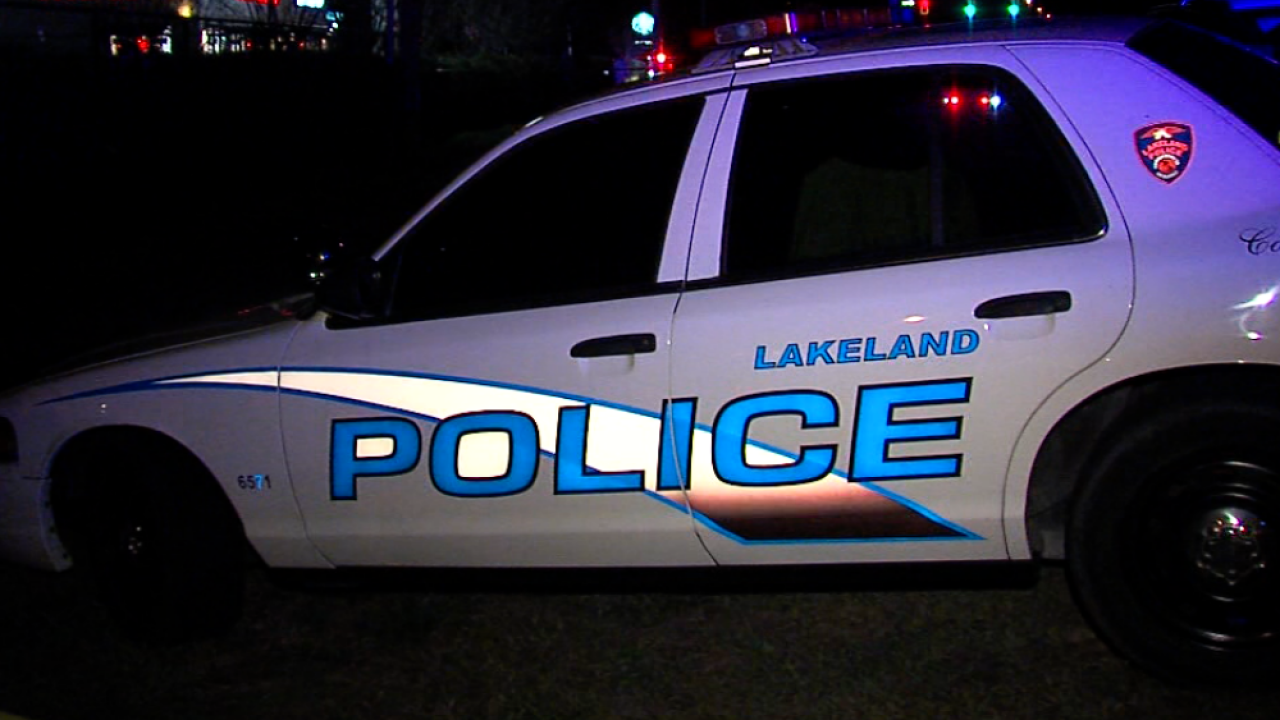 Lakeland Police cruiser