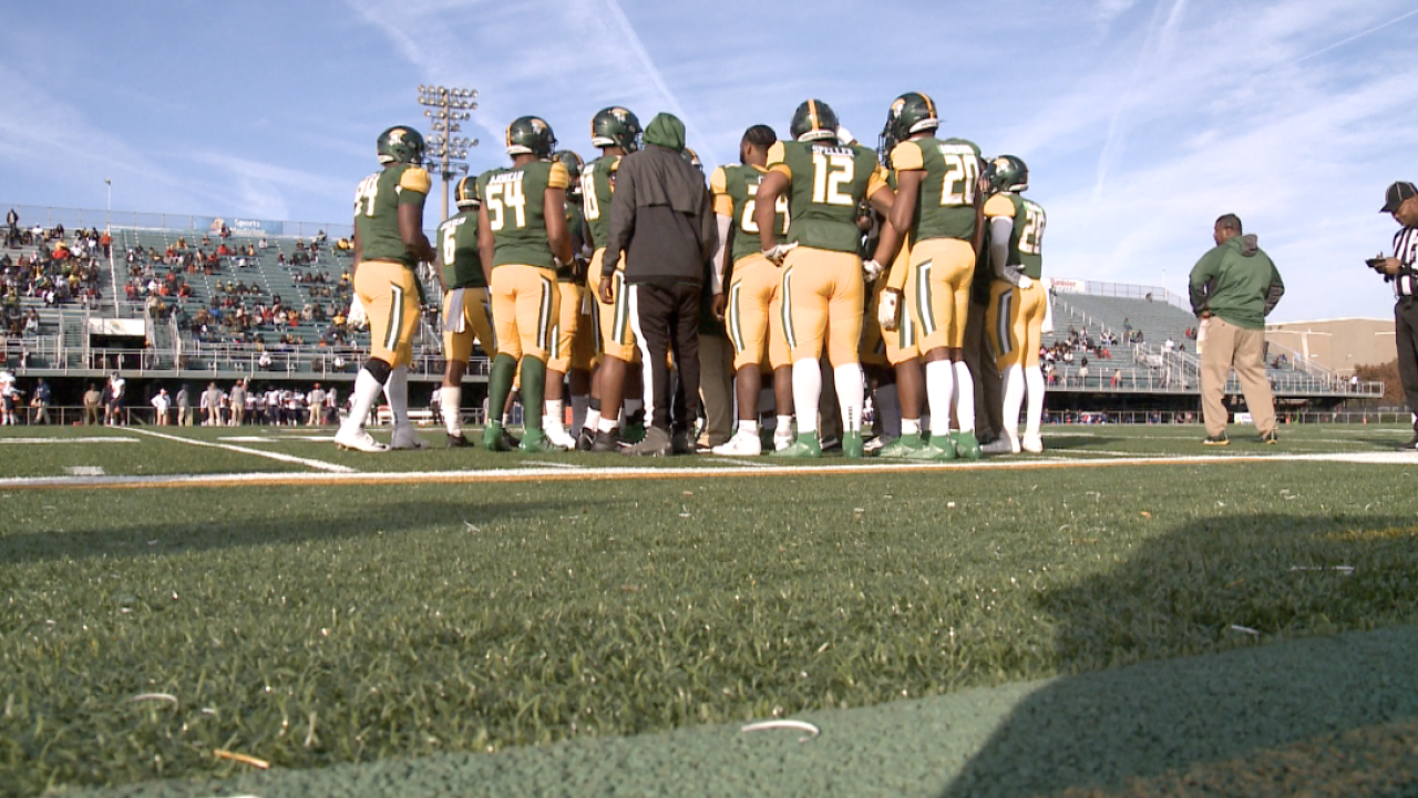 Norfolk State football wins homecoming game with a 48-0 rout of Morgan State