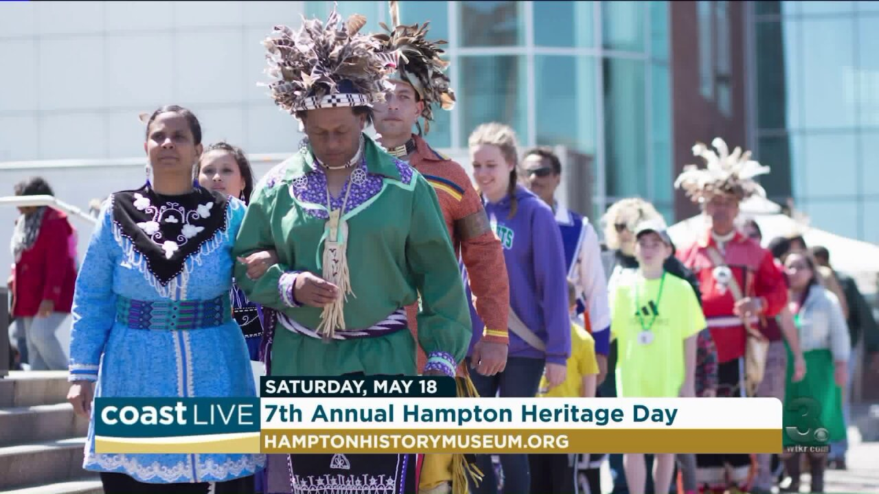 Honoring the cultures that shaped Hampton's early history on CoastLive