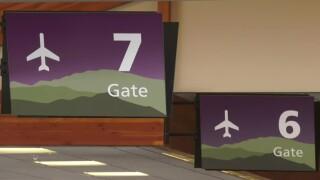 Gates at BZN