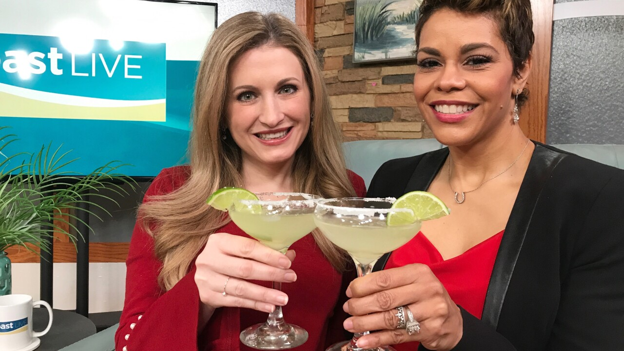 Celebrating National Margarita Day on Coast Live