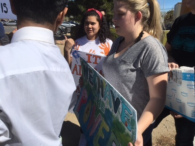 PHOTOS: Las Vegas students participate in Walkout Day