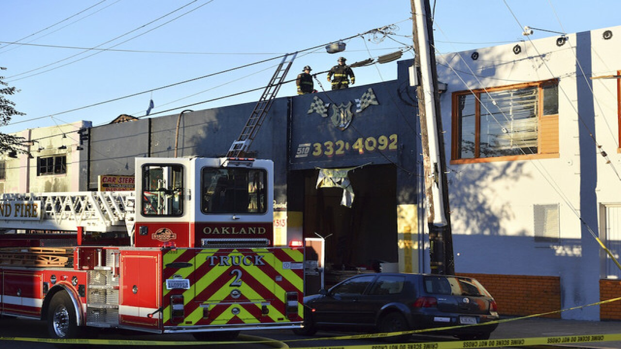 Fire at Oakland warehouse party kills at least 9