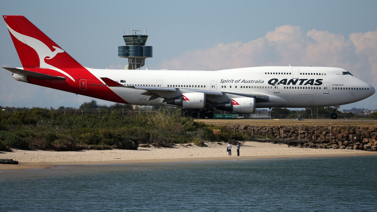Qantas offers 7-hour scenic flight for those 'missing the excitement of travel'