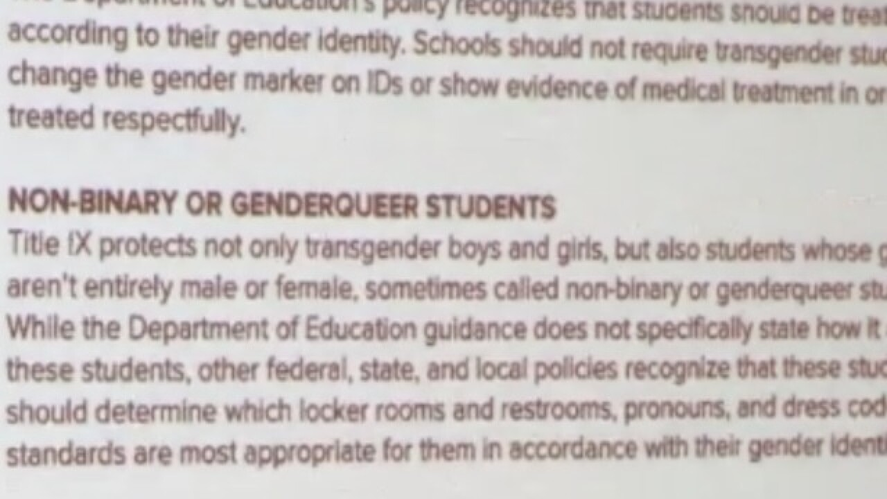 Teacher fired for mislabeling transgender boy