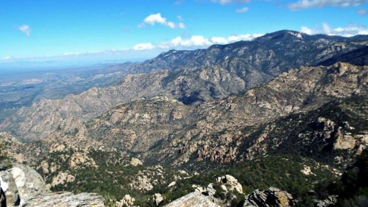 Hiker rescued on Finger Rock Canyon Trail