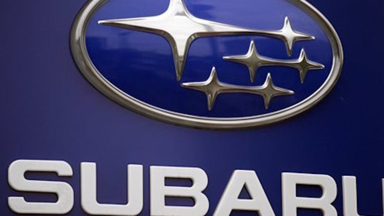 Subaru recalls more than 100K vehicles for turbo air pump issue