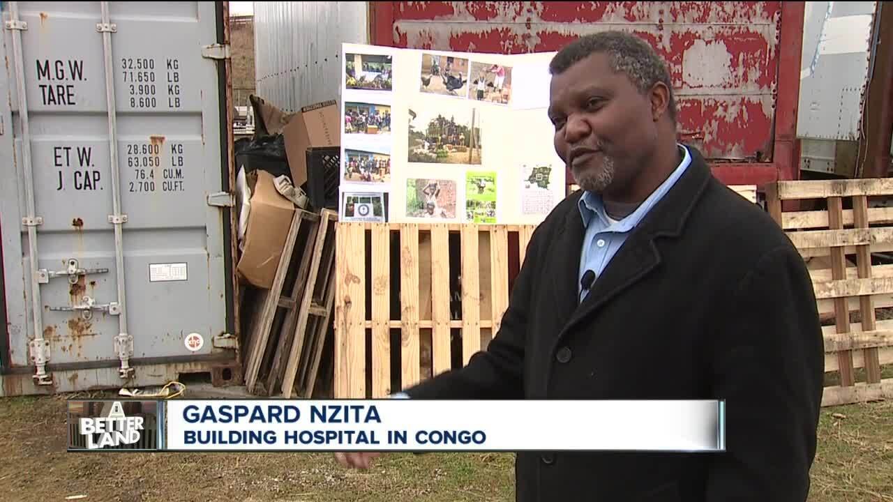 Gaspard Nzita builds hospital in Congo