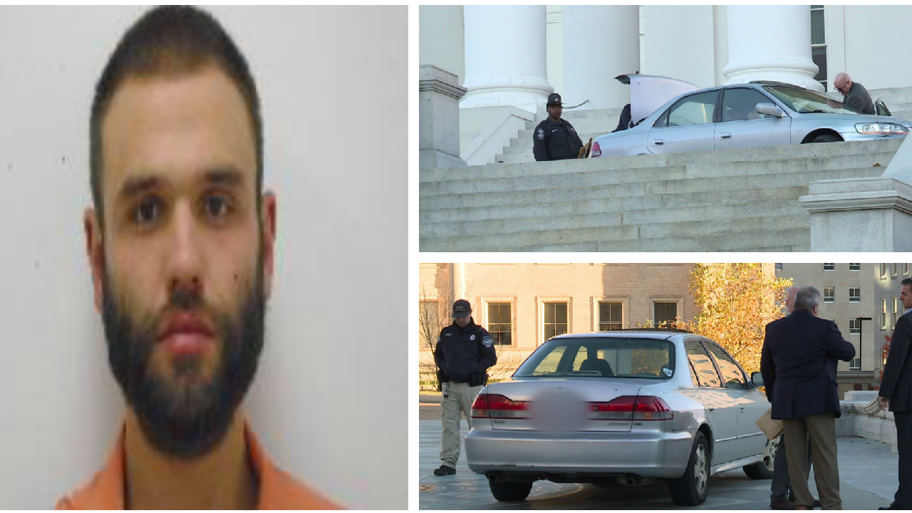 Henrico man sentenced to 100 days in jail for driving onto CapitolSquare
