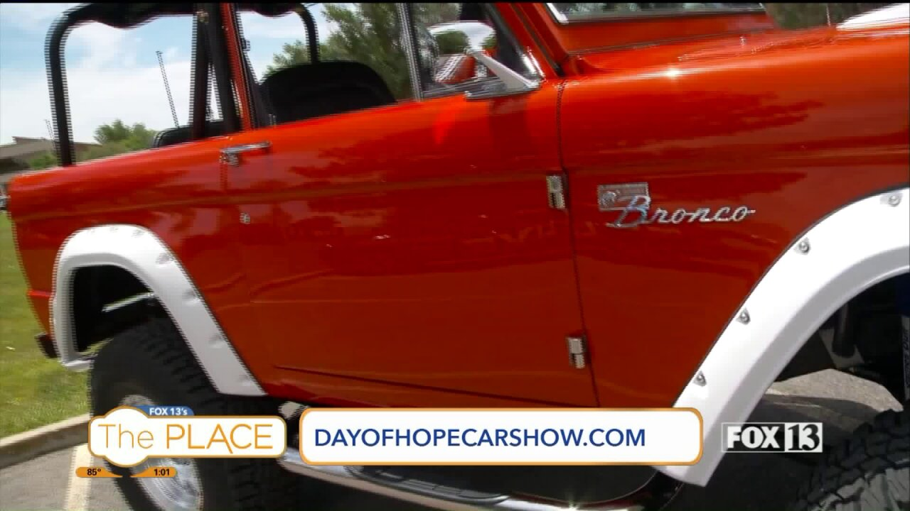 You're invited to the 8th Annual Day of Hope Charity CarShow