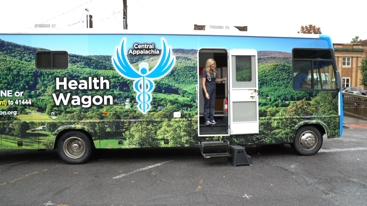 'If we're not here, the people die': In the forgotten region of Appalachia, health care comes from a wagon