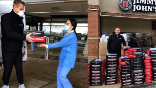 Nonprofit delivers sandwiches to thousands of nurses in Michigan