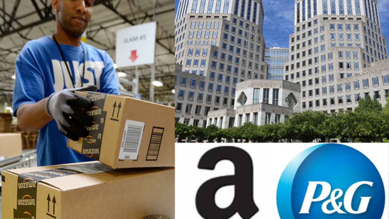 P&G and Amazon face investors on the same day. Can Cincinnati handle the results?