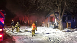 house fire in Kalispell