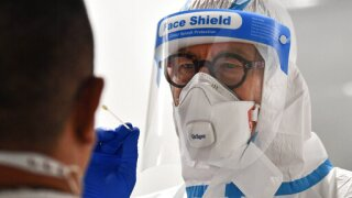More airports launch coronavirus test sites in hopes of getting people back in the air
