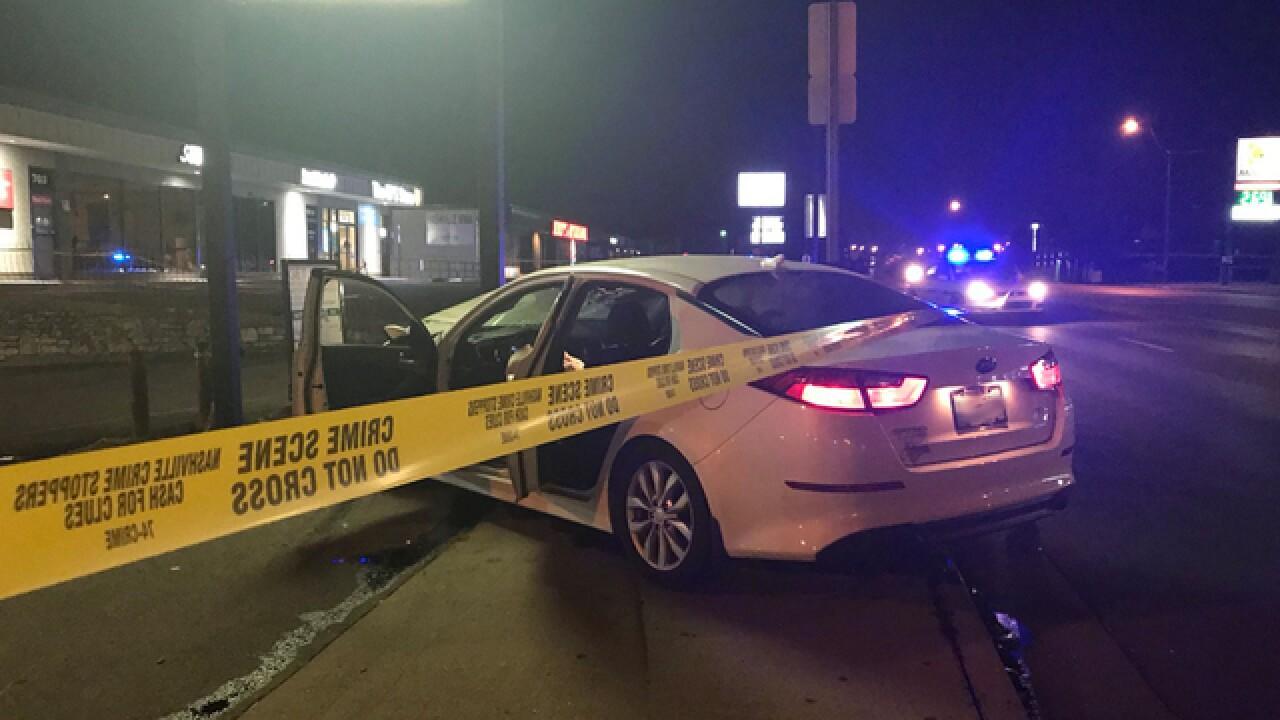 Man Found Shot In The Head In Car
