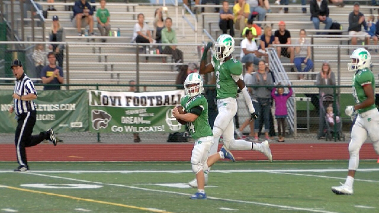 Water boy with Down syndrome scores TD