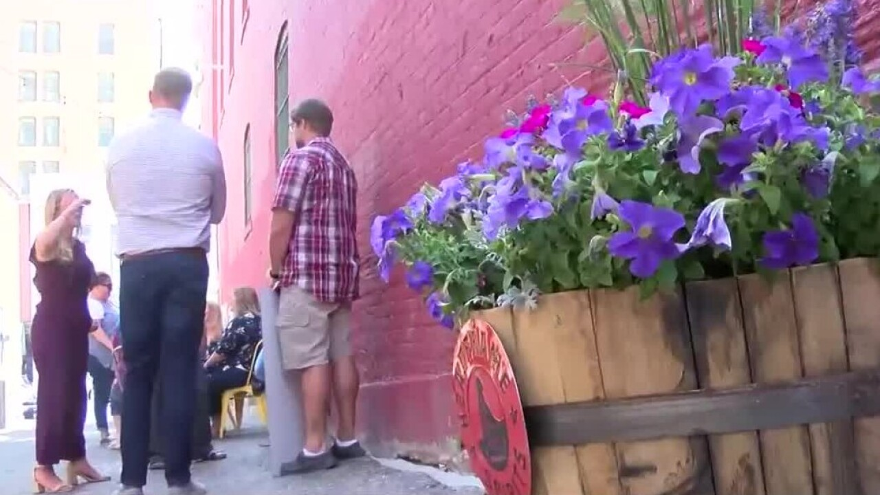 Alley upgrade in Uptown Butte hopes to attract cool cats