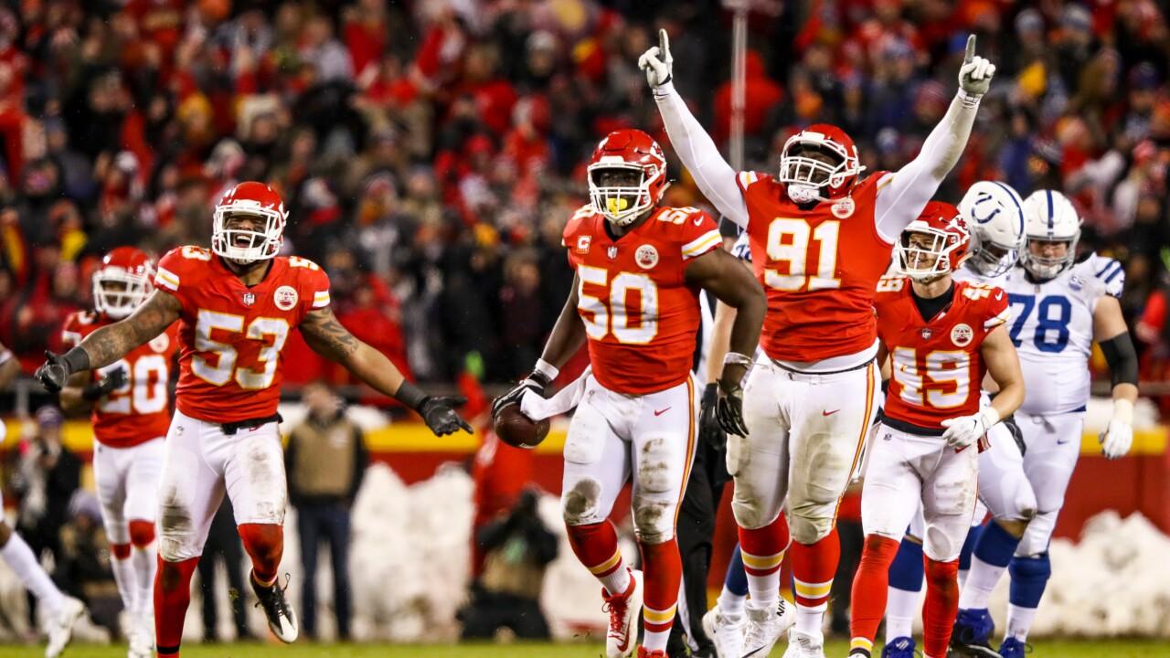 Chiefs Defense Indianaplis Derrick Nnadi Justin Houston Anthony Hitchens Daniel Sorensen