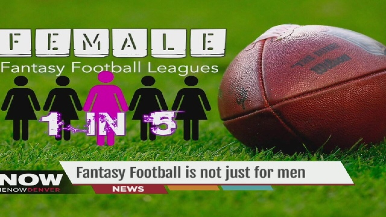 Study shows 1 in 5 women play fantasy football
