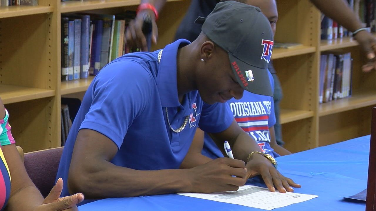 Rickards track standout signs to Louisana Tech