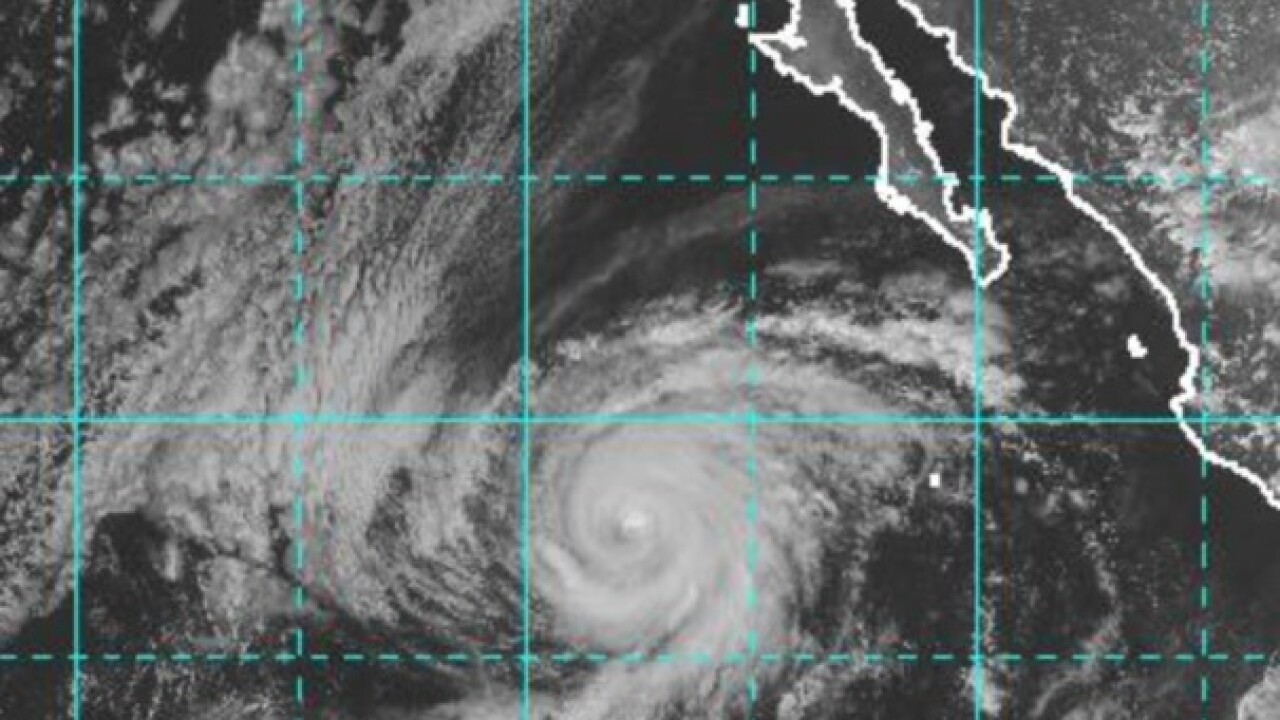 Hurricane Rosa off Mexico could bring rip currents, flooding in US
